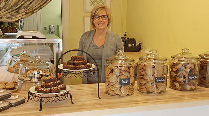 Simply Sweet of WNY in Williamsville is one of the stores in the area that offer a variety of gluten-free baked goods. It's owned by Cindy Slomovitz, whose body cannot tolerate gluten. She used her passion for baking to turn out a range of gluten-free baked goods. Her business started in 2013.