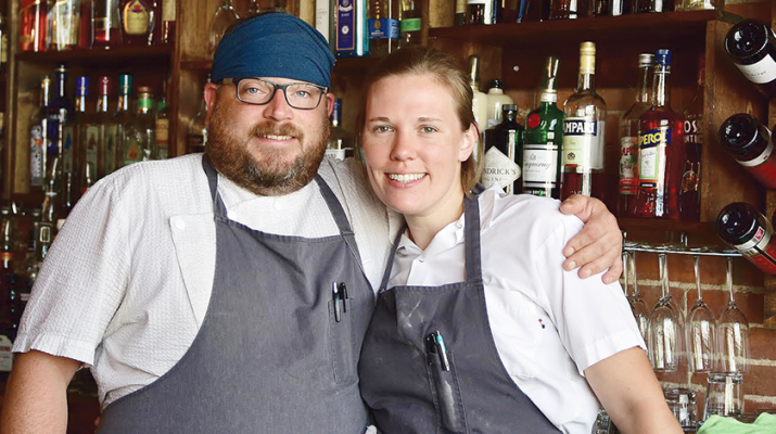 Steve Gedra, executive chef of The Black Sheep Restaurant & Bar, and wife, Ellen, general manager, are honorary co-chairmen and sponsors of Dining Out For Life 2016.