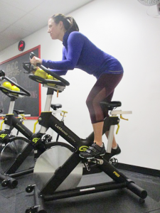 One of the newest indoor cycling centers, Queen City Cycling in Buffalo, offers a variety of cycling sessions, including TRX suspension training classes.