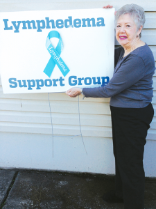 Joanne Coury of Willimasville founded WNY Women's Lymphedema Support Group to help other women cope with condition, which involved swelling of various parts of the body. The condition has no cure.