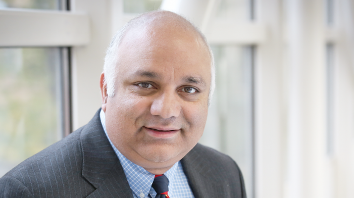 Physician Khurshid Guru is a vice chairman of the department of urology and director of robotic surgery at the Roswell Park Cancer Institute.