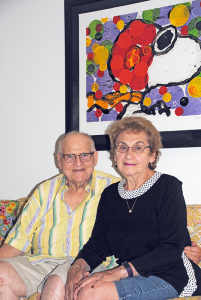 "Leonard and Marcia Saran lived in their Amherst home for 50 of the 59 years they'd been married, raising their son and daughter there before deciding the time had come to downsize. ""We wish we'd done it sooner,"" they say."