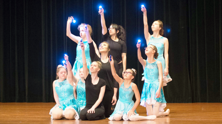 Students at Moving Miracles during a contemporary ballet class this year. The West Seneca dance studio whose student body is made up wholly of special needs children and adults is celebrating 20 years this year.