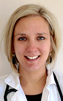 Physician assistant Katherine Sumner, director at-large for the Western New York Physician Assistant Association.