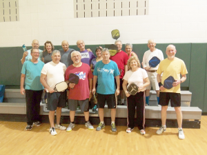 Men and women who live in the Southtowns gather every Sunday to play pickleball in the gymnasium at the Town of Hamburg Senior Center.