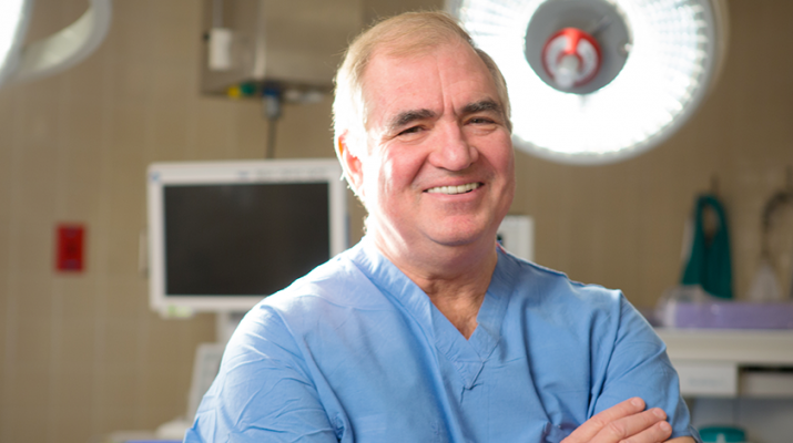 Physician Steven D. Schwaitzberg, chairman of the department of surgery at the University of Buffalo.