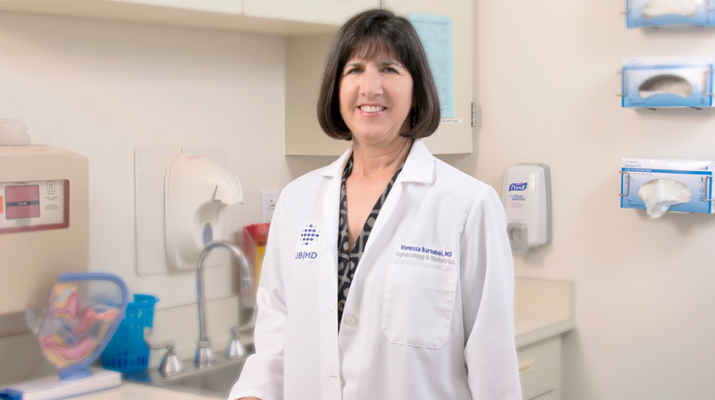 Physician Vanessa Barnabei, PhD, president and CEO of UBMD Obstetrics and Gynecology.