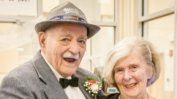 "Trendy couple: Elizabeth ""Ebeth"" Merkle and John Denninger are part of a growing number of older couple who are ""couple"" but never wed or cohabitate."