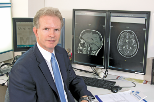 "Physician John Leddy, director of UB's Concussion Management Clinic in the Jacobs School of Medicine and Biomedical Sciences and an international expert on concussion. ""It may be because the biomechanics of the injury,"" Leddy says as a potential reason for more incidence of concussion among women athletes."