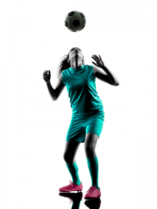 MRI scans used in the study show greater damage among female soccer players who head the ball than males. Heading the ball accounts to 25 to 30 percent of concussions among female and male soccer players