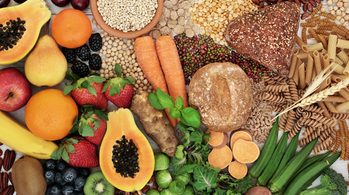 "Some food with high fiber content. ""Fiber can influence inflammation in the entire body,"" says Mary Jo Parker, registered dietitian at Nutrition & Counseling Services in Williamsville."