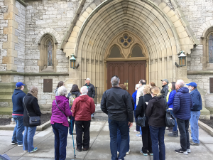 A walking tour led by one of Explore Buffalo's trained, experienced and entertaining docents is a great way to learn about Buffalo, its history and architecture. Photo provided.