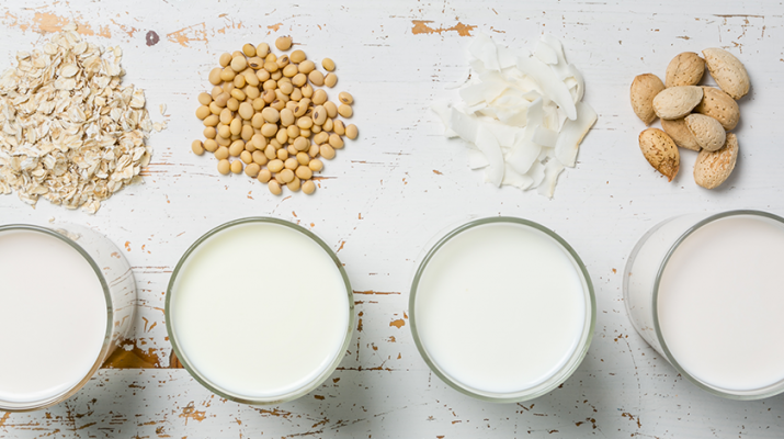 Oat milk, soy milk, coconut milk, hazelnut milk. Alternative options for dairy milk have grown in popularity in the last two decades. But how do they compare to dairy milk?
