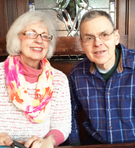 "Linda Loomis and her husband Arthur. Her advice for successfully aging: ""Stay involved with people. Cherish your friends. Do things. Spend your money on experiences, not on things. Hold your friends dear, and stay close to your family,"" she says."