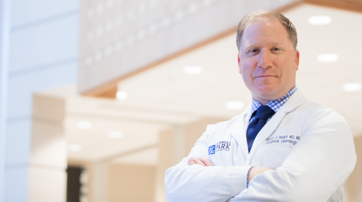 Steven Nurkin, a surgical oncologist and associate professor of oncology at Roswell Park Comprehensive Cancer Center in Buffalo.