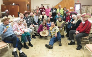 Group of caregivers at the respite care program at Eden United Methodist Church in Eden. Photo provided