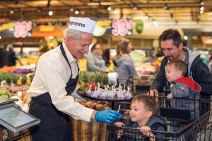 "Wegmans Food Markets offers many opportunities for kids to learn about foods and nutrition, including its popular hands-on ""Cooking With Kids"" classes. Photo courtesy of Wegmans Food Markets."