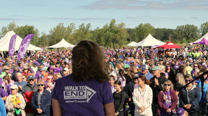 Various Walk to End Alzheimer's events take place every year in Western New York. Those events have raised more than $800,322 this year, including $516,312 raised in Buffalo on Sept. 14.