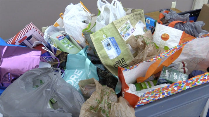 Kaleida employees donate hundreds of personal care, child-care and clothing items during the drive, which follows a $100,000 donation to City Mission earlier this year