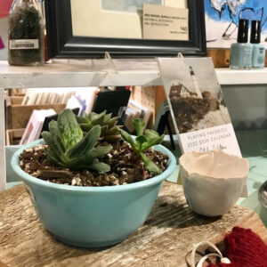 ShopCraft (773 Elmwood Ave., Buffalo) carries bath and body products by Spruce Up Soap Co. Also look for a large variety of textile-based gifts and more.