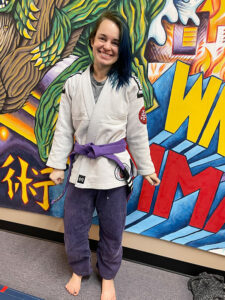 Dusty Bockrath, who holds a purple belt as an experienced combat competitor, serves as the primary instructor each Sunday morning at WNY Mixed Martial Arts & Fitness in Buffalo.