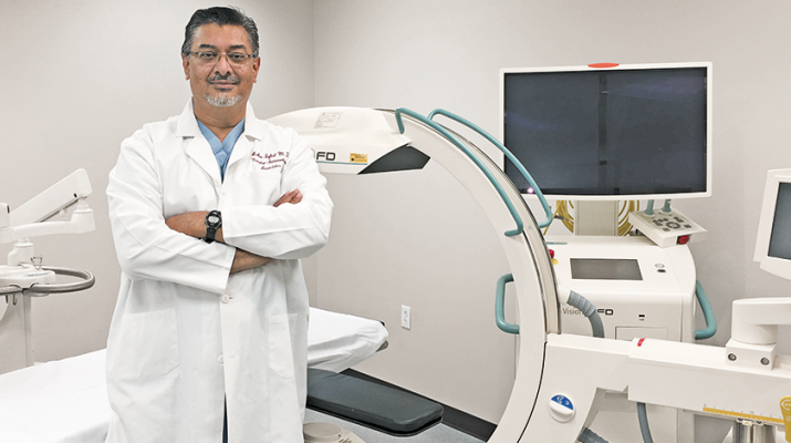 A vascular interventional radiologist, Azher Iqbal offers a variety of treatments. He recently opened Buffalo Vascular Center in Lancaster, a full clinical practice, because of the growth in vascular-based treatments.
