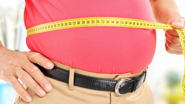 Men's belly
