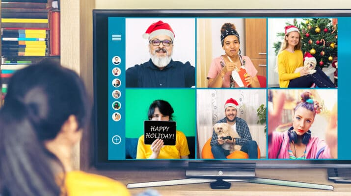 Many families with out-of-town relatives have been doing this for years, but opening gifts together via Zoom is a great way to bring the family together safely