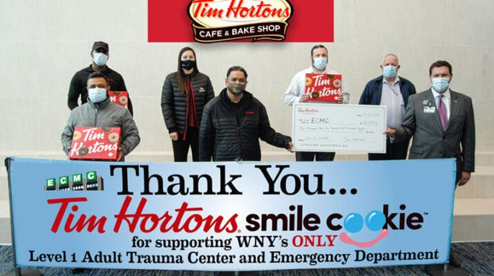 ECMC and Tim Hortons Partner to support New KeyBank Trauma & Emergency Department